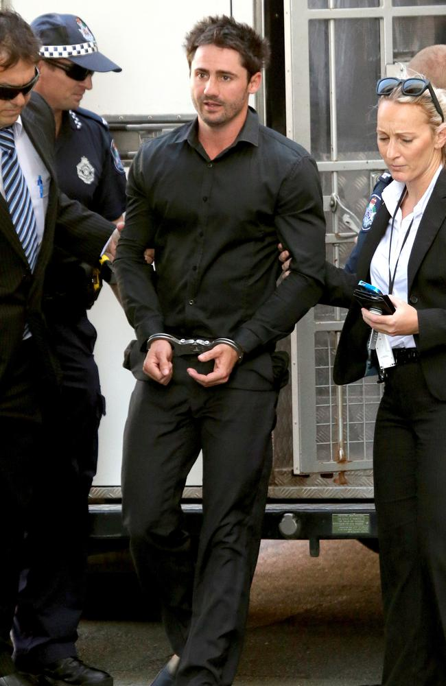 Daniel Heazlewood, 31, has just over a year left in custody if her serves only his minimum sentence. Picture: Mike Batterham.