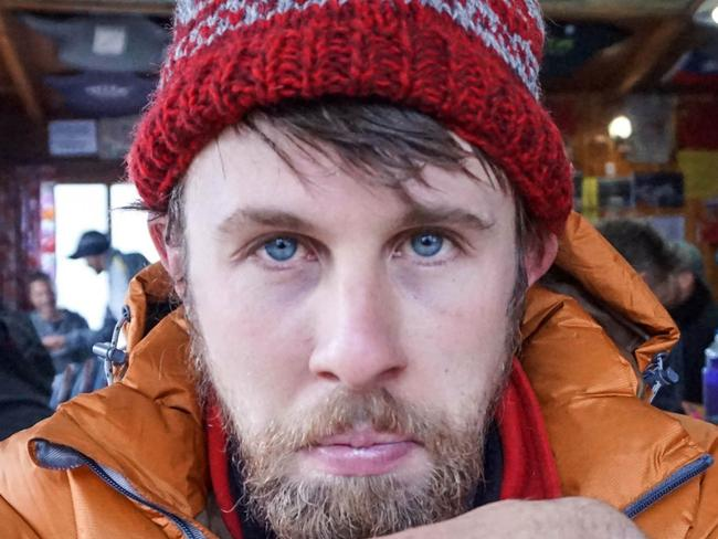ONE TIME WEB USE ONLY - FEE APPLIES FOR REUSE -  **MANDATORY BYLINE** Pic by Jack Page/Caters News - (Pictured: Jack Page, 29 and his partner Alice Buck, 28 climbed to Everest Base Camp where Jack came down with giardiasis, which is an infection to the digestive system. Jack continues to suffer from the drug side effects a year on. Pic taken on 08/05/2016) - This traveller has been dubbed Britains unlucky adventurer by everyone who has heard about his travels. Jack Page, 29, has spent the last decade visiting exotic spots all over the world. But rather than enjoy an adventure of a lifetime, he has been caught up awful experiences with his long suffering girlfriend. He has struggled through severe stomach pains and parasites on Mt Everest, been stranded for 36 hours on a derailed train in Burma and even had his supplies stolen by monitor lizards when he accidentally stranded himself on a desert island. SEE CATERS COPY  Picture: Jack Page/Caters News