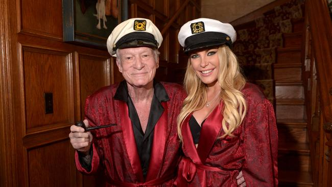 Playboy Mansion Hosts Annual Halloween Bash