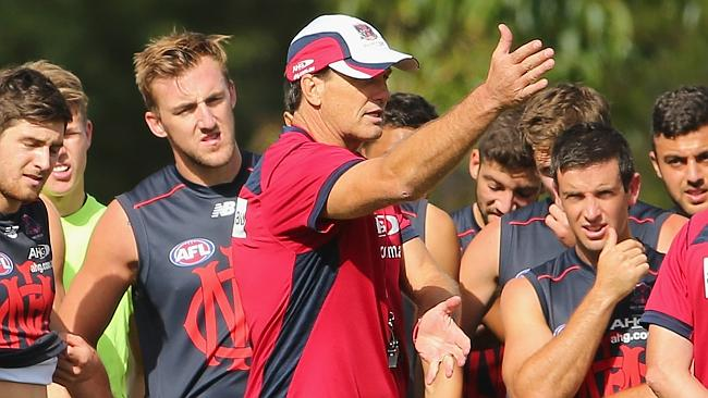 Paul Roos is only signed until the end of next year, with a 2016 option.
