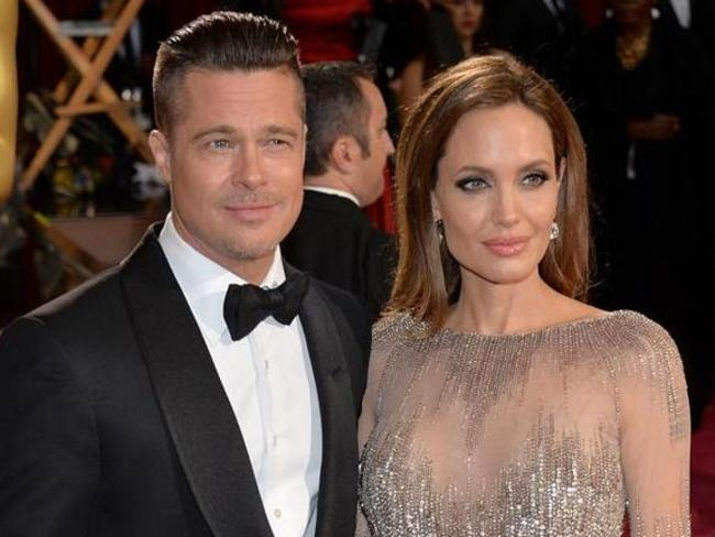 Married ... Brad Pitt married Angelina Jolie in France on Saturday. Voight was not invited. Picture: Getty Images