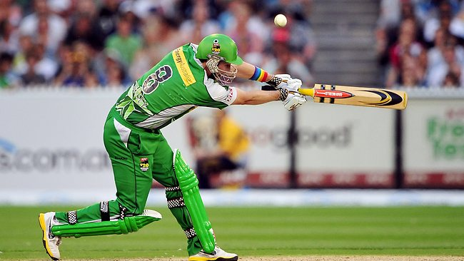 David Hussey - Melbourne Stars. Picture: Colleen Petch