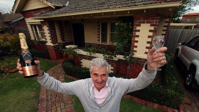 Mark Watson is one of the three homeowners who jointly sold their houses to a developer. Picture: Alex Coppel.