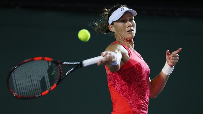 Samantha Stosur is one of thousands of Aussies who have battled tick-borne diseases. Picture: Al Bello/Getty Images/AFP