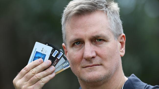Gold Coast man Greg Young is taking part in the the Big Debt Switch campaign, which has had more than 31,000 people sign up. Picture: Adam Head