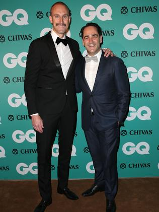 Fitzy and Wippa. Picture: Richard Dobson