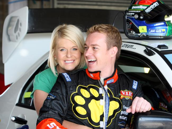 """Cheryl says she supports Grant's decision to continue racing """"wholeheartedly""""."""