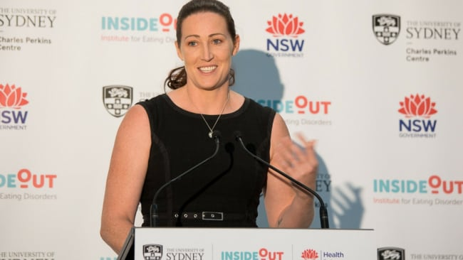 Olympian Jana Pittman is speaking out about her 15-year battle with bulimia. Image: Supplied.