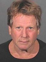 Ryan O'Neal's mugshot September 17, 2008 in LA. Ryan O'Neil and his son Redmond O'Neil were arrested on September 17, after Los Angeles County Sheriffs Deputies went to O'Neil's Malibu home to check on Redmond O'Neil, who is serving three-years of probation for drug possession charges, and allegedly found drugs. (Photo by Los Angeles County Sheriffs Department via Getty Images)