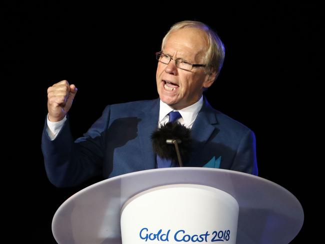 Peter Beattie also admitted his speech wasn't necessary. Picture: Scott Barbour