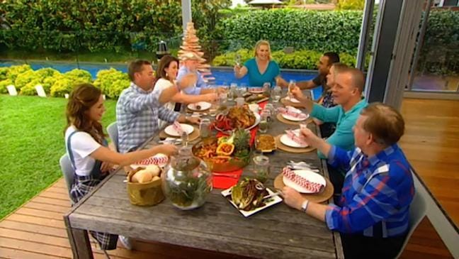 Tara dennis on better homes and gardens christmas special Better homes and gardens au