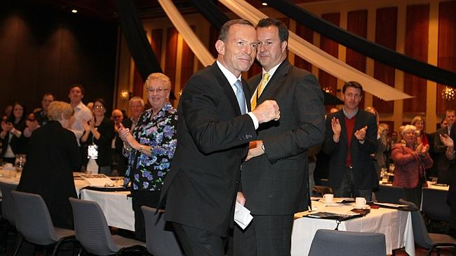 """Prime Minister Tony Abbott says he """"inherited a mess'' but """"made a very strong start""""."""