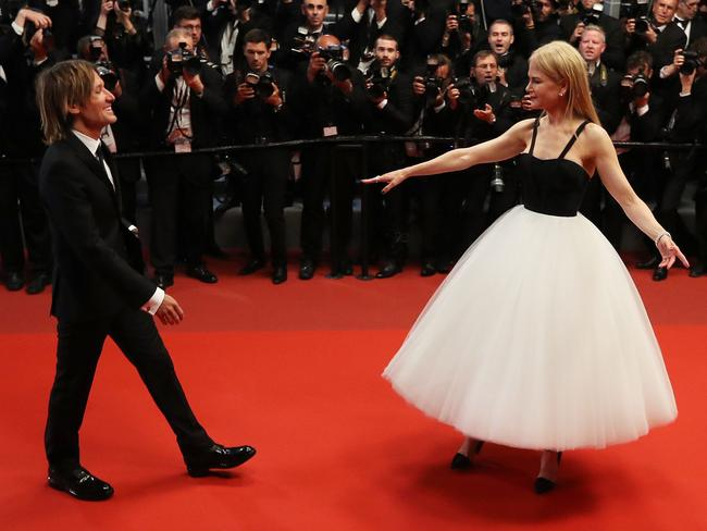 Ballerina realness. Picture: AFP