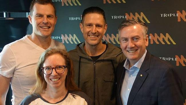 Wil Anderson joins Triple M Hot Breakfast with Eddie McGuire and Luke Darcy | Herald Sun