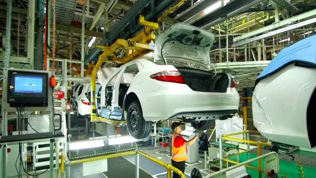 Close inspection ... Toyota says the last model will be the best-built yet. Photo: Supplied.