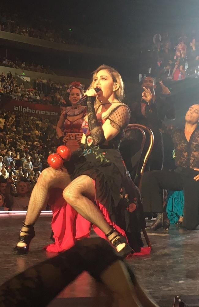 Madonna entertains the masses at AllPhones Arena.