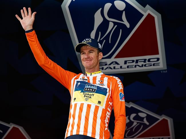 Cleared ... The UCI has confirmed Australian cyclist Michael Rogers of Tinkoff-Saxo will
