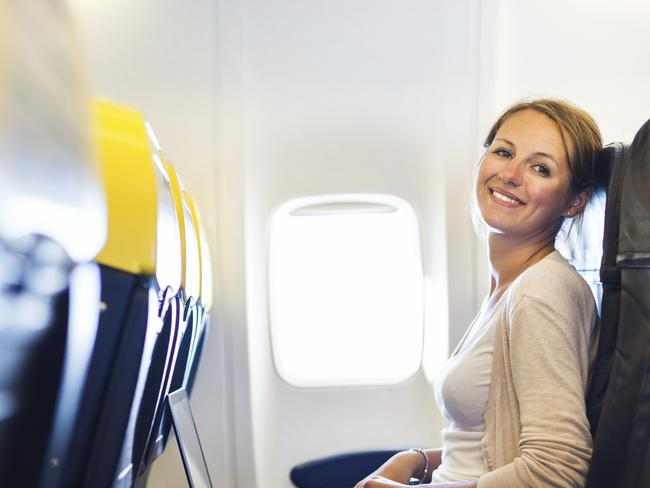 Search for a good deal if you want to be the one smiling on your next flight.