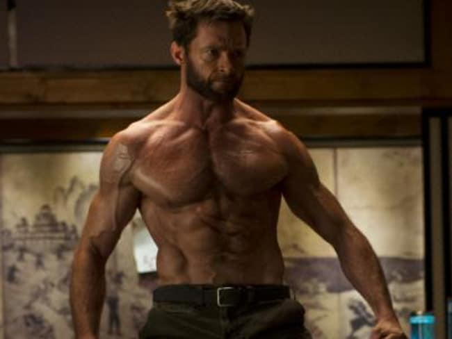 Hugh Jackman is said to be a fan of F45 training, which got him into shape for Wolverine. Picture: YouTube.