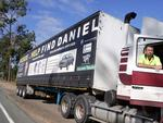 Truck driver Dave Mackay seeking information on Daniel in July 2005. Picture: Bruce Long