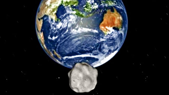 Asteroid 2012 DA14 set for near-miss with Earth
