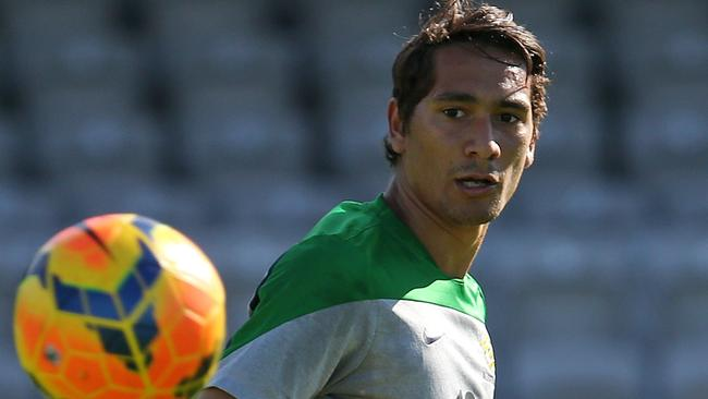 Adam Sarota is hoping to get back in the Utrecht team and impress Ange Postecoglou.