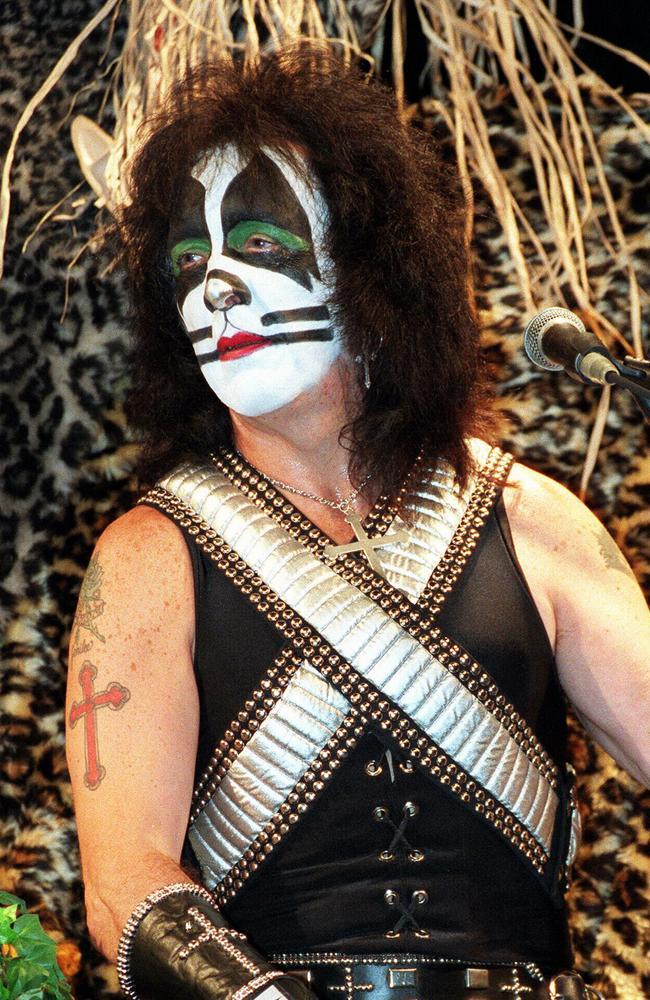 Peter Criss member rock band Kiss. band/kiss