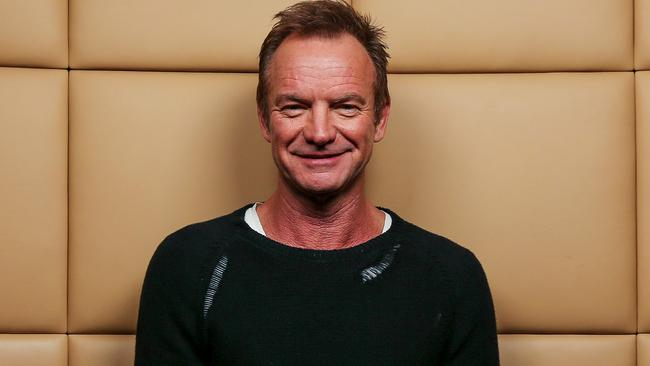 Sting talks Prince, Bowie and his AFL Grand Final performance