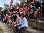 A large crowd came to watch Aldinga Sharks battle Marion at Shark Park Aldinga. Picture. Mark Brake
