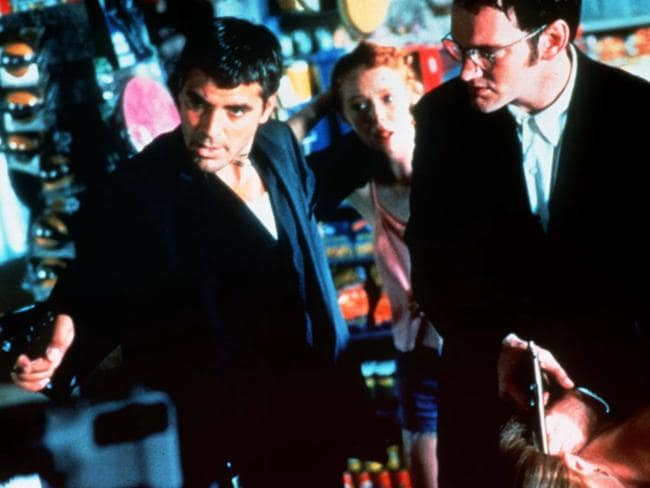 George Clooney and Quentin Tarantino starred in the  <i>From Dusk Till Dawn </i>movie.