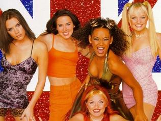Spice Girls promotional poster.