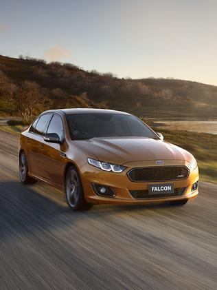 Ford had to double production of the Falcon XR8. Picture: Supplied
