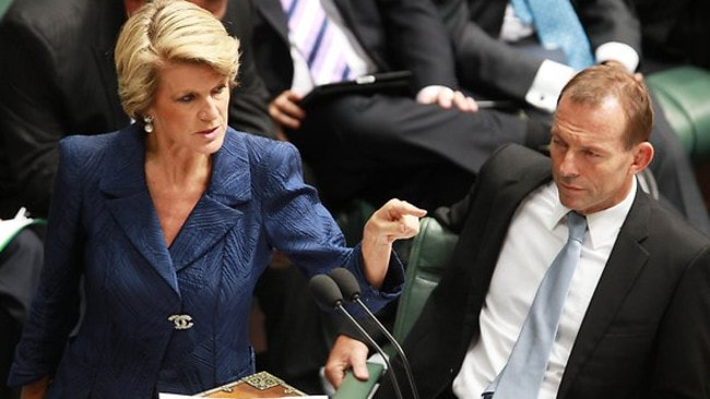 "Compromise ... Foreign Minister Julie Bishop admits the Coalition should listen to ""constructive"" suggestions. Picture: News Corp"