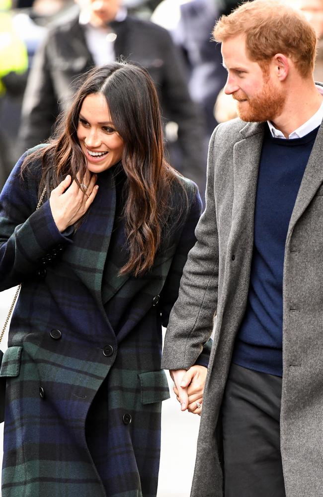 The couple appeared as loved up as ever. Picture: Jeff J Mitchell/Getty Images
