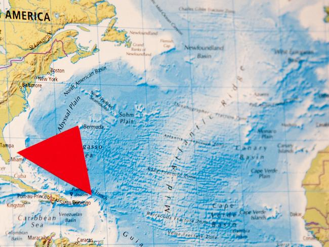 The Bermuda Triangle is said to have claimed more than 1000 lives over the past 100 years.