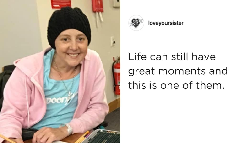 Connie Johnson shares heartwarming pictures of her final days in hospice