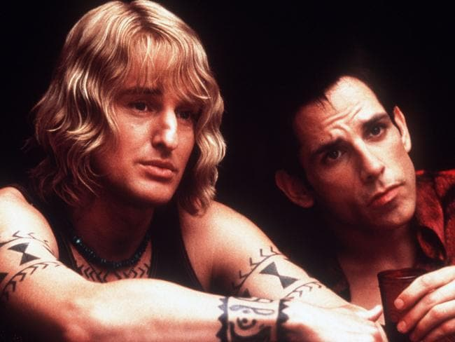 So hot right now ... Actors Owen Wilson (L) and Ben Stiller in the film Zoolander. Picture: Supplied.