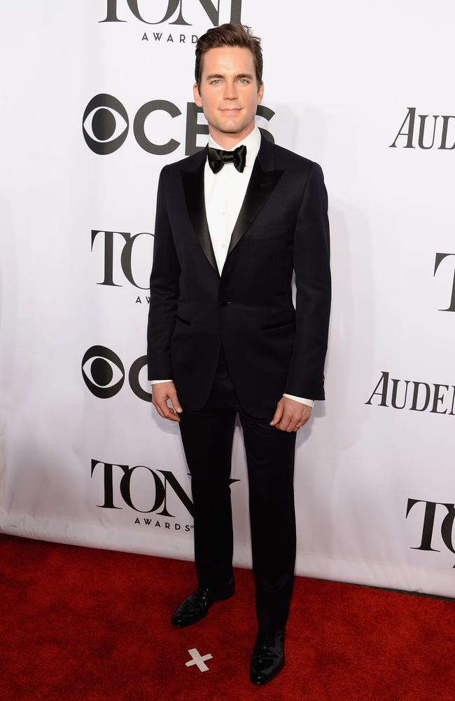 Magic Mike star Matt Bomer attends the 68th Annual Tony Awards.