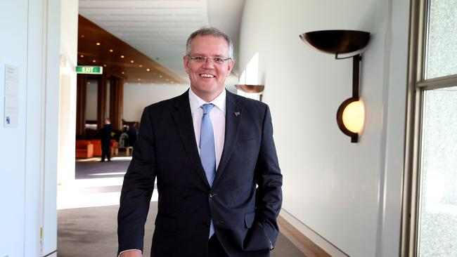 Axed ... Minister for Social Services Scott Morrison scrapped the Stronger Relationships trial soon after taking over the portfolio. Picture: News Corp Australia