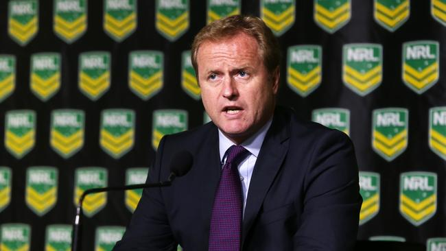 NRL CEO Dave Smith has already been criticised for backdated bans handed to players.