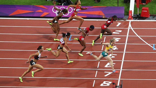 Sally Pearson finish line