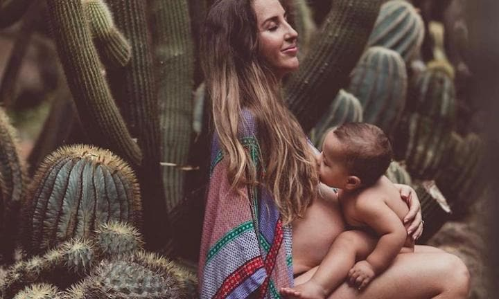 Photographer's captivating pics help normalise breastfeeding