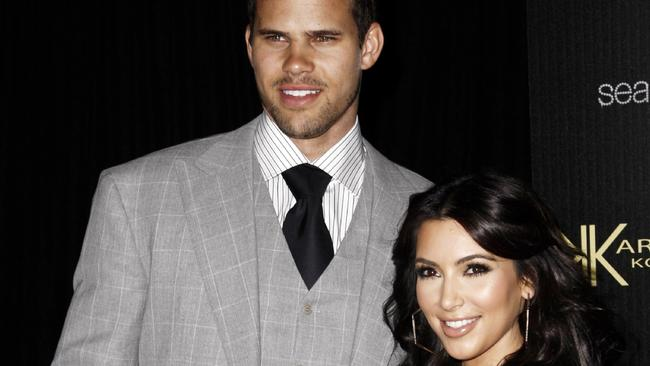 No future ... Kim Kardashian was famously married to NBA basketball player Kris Humphries for just 72 days. Picture: AP