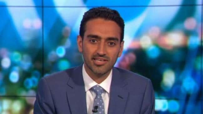Waleed Aly talks about Karl Stefanovic on The Project. Picture: Channel 10