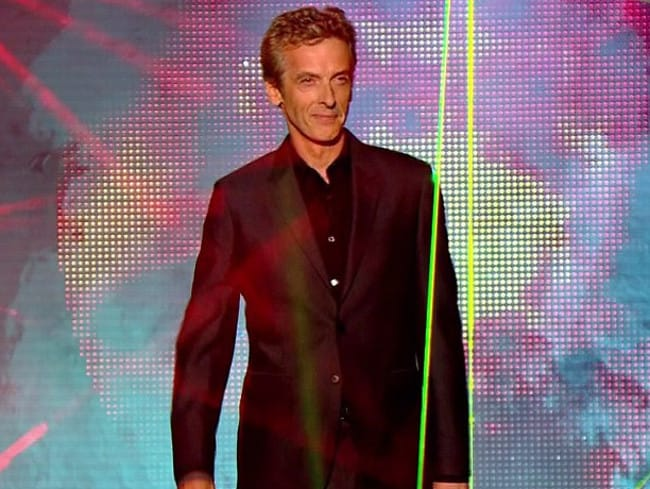 Peter Capaldi has been named as the new Doctor Who.