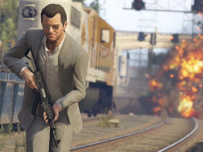 Popular ... Grand Theft Auto remains a hit with gamers. Picture: Supplied.