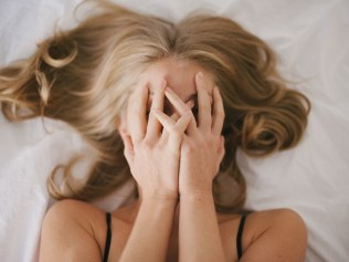 When your uterus says 'ugh' Image: Stocksy