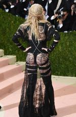 "Madonna attends the ""Manus x Machina: Fashion In An Age Of Technology"" Costume Institute Gala at Metropolitan Museum of Art on May 2, 2016 in New York City. Picture: Larry Busacca/Getty Images/AFP"