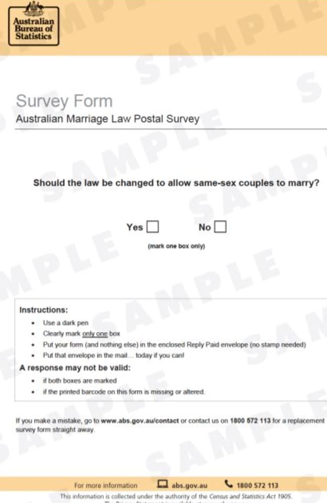 survey gay marriage