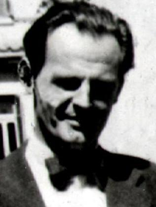 Can't keep a secret ... Donald Maclean, who was a KGB spy.